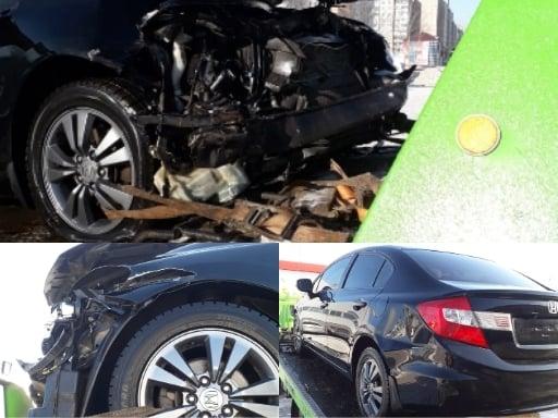 Автомобиль не подлежит восстановлению